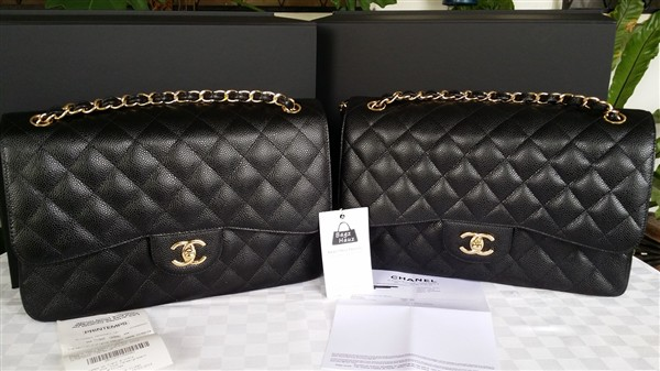 5cd17dc8a7c3 Classic CHANEL Jumbo Flap in Black Caviar GHW