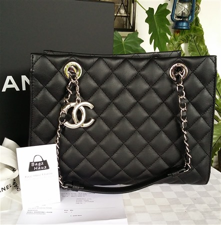 7bc9167bd3c4 CHANEL A94059 Small Shopping Tote (Seasonal Piece)