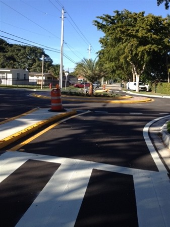 Traffic Circles - 133 Street