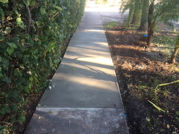 Sidewalk – Phase II - After