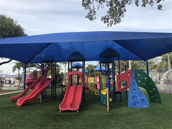 Keystone Park Playground Resurfacing - After