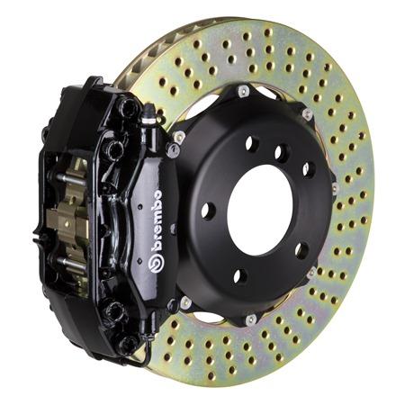 F+R Cross Drilled Rotors /& Ceramic Pads for 2010-2014 Volvo XC90 w// F 328mm