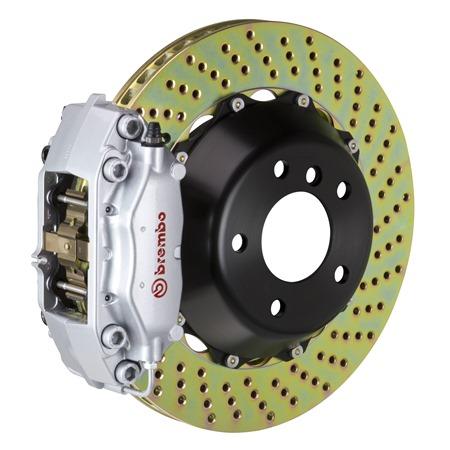 Rear Discs Brake Rotors and Ceramic Pads For Subaru Impreza Coupe 1992-1998 Slot