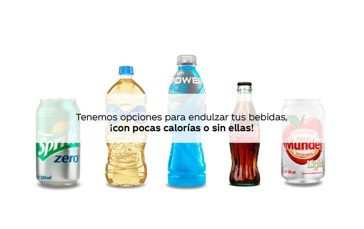Resultado de imagen para Industria de bebidas reducir calorías en sus productos