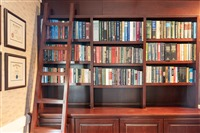 Library room: We believe that knowledge is everything.