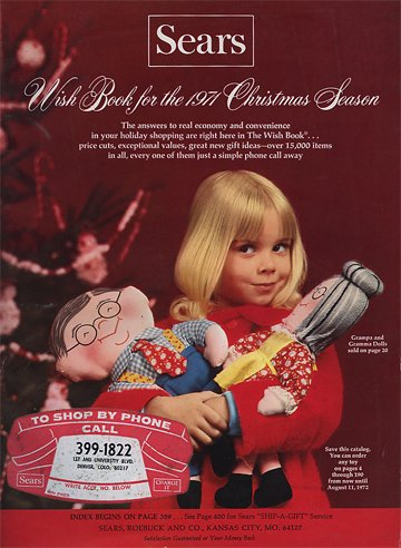 The Sears Christmas Wish Book - When Catalogs were King -