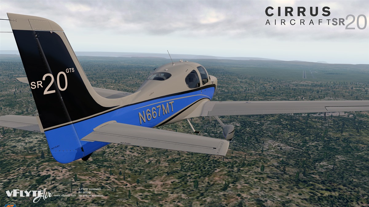 vFlyteAir - add-on aircraft for X-Plane