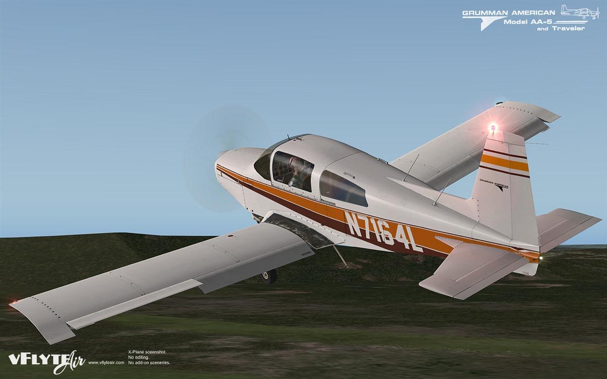 vFlyteAir - add-on aircraft for X-Plane