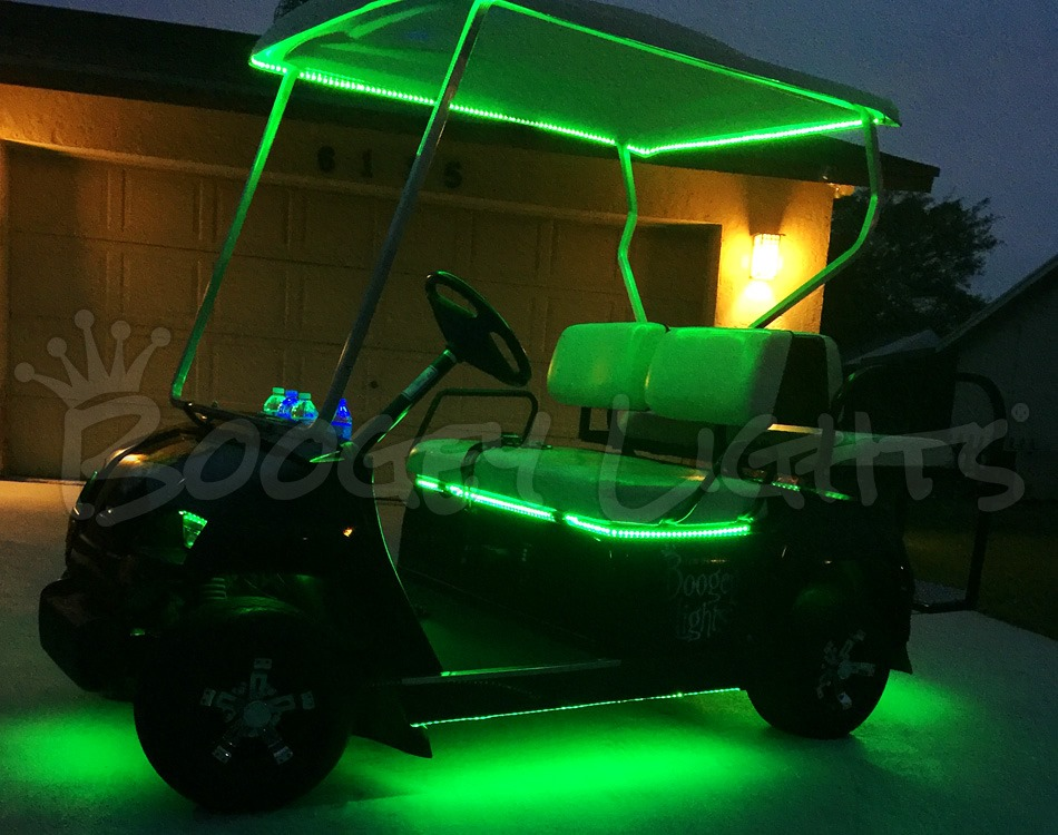 Golf Cart Under Glow Led Kit Multi Color