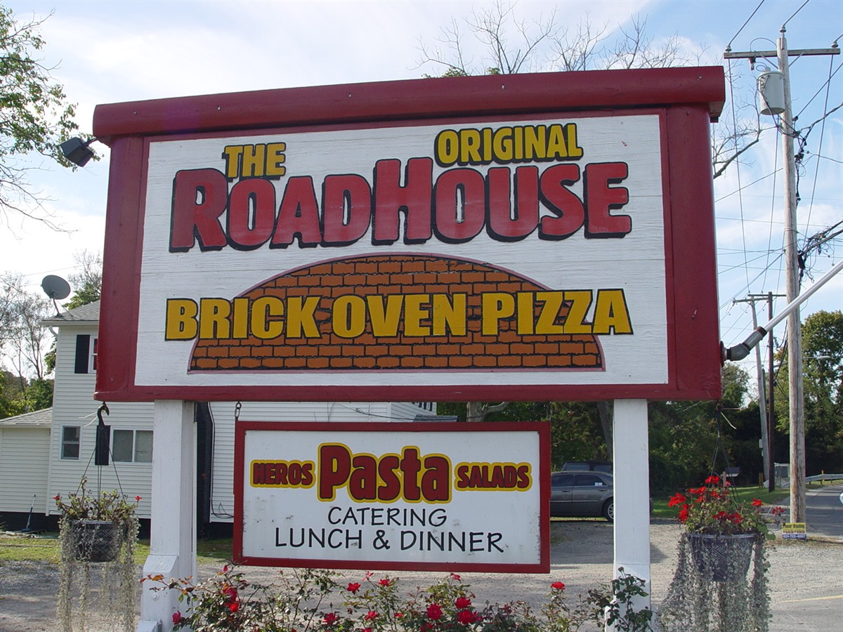 Welcome To The Roadhouse Brick Oven Pizzeria Restaurant And
