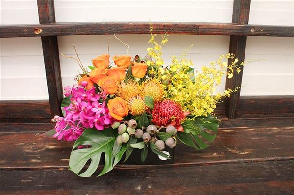 bright corporate flower