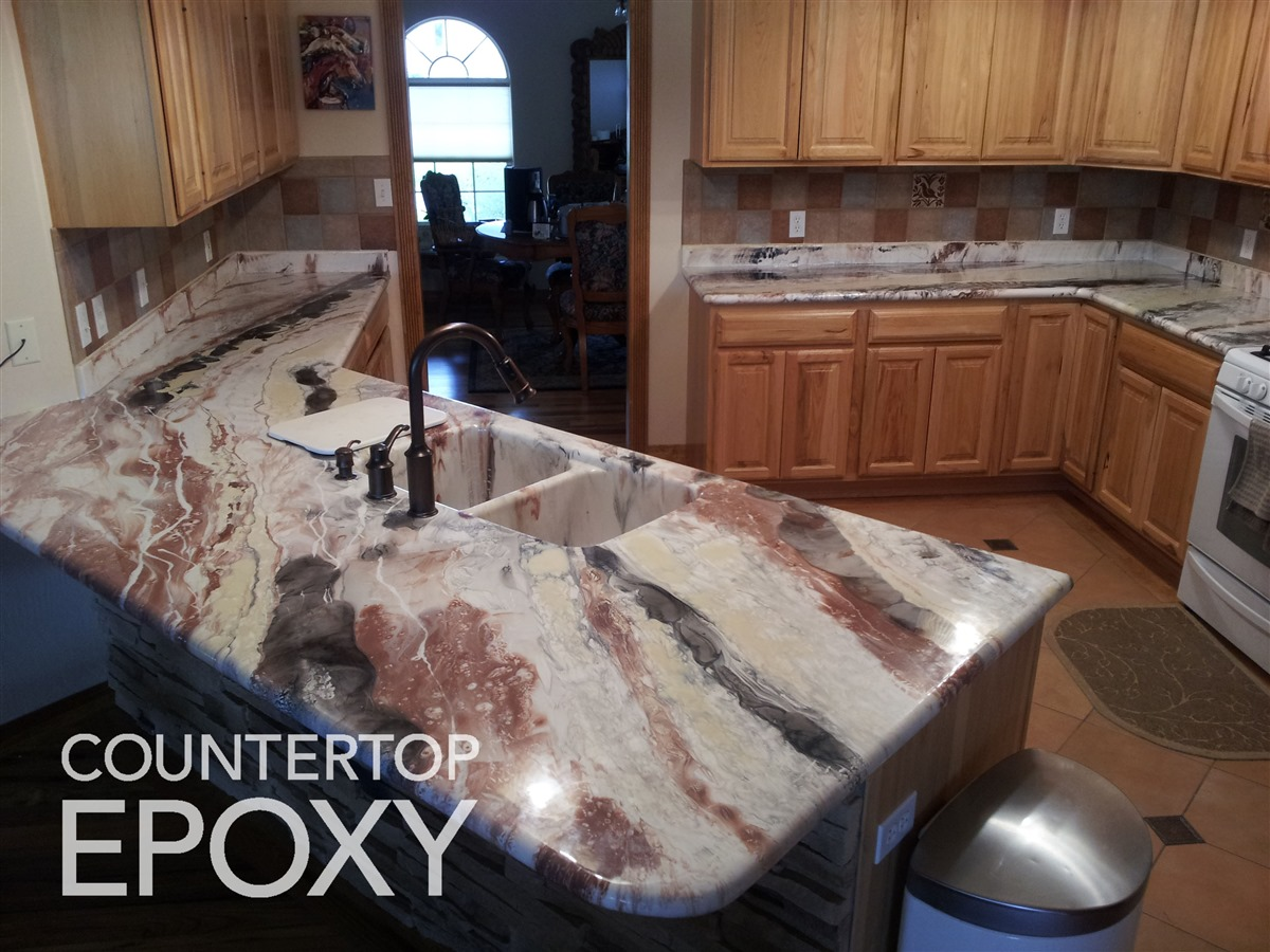 Countertop Epoxy Photos and Video Gallery | FX Poxy Countertops