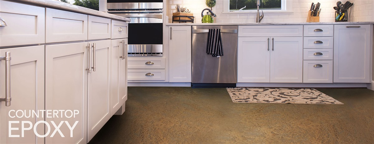 Refinish Your Kitchen Flooring with High Gloss, Durable Epoxy