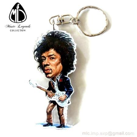 Llavero Caricature Music Legends